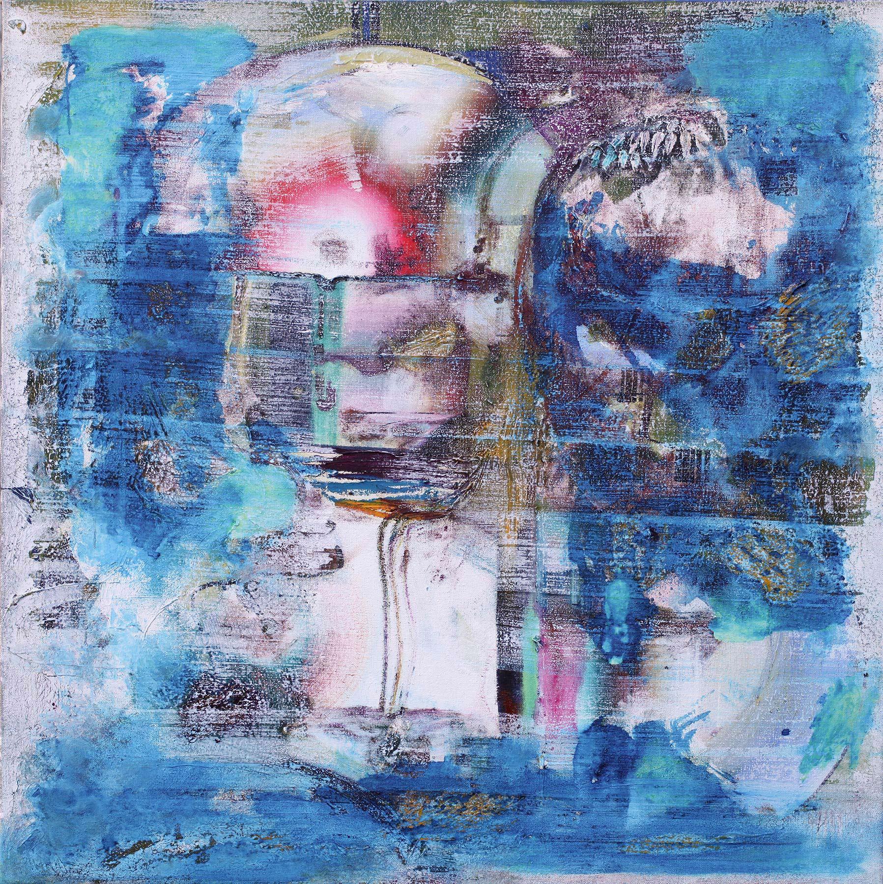 Ungegenständliche Malerei von Ann-Kristin Hamm/ Abstract Painting by Ann-Kristin Hamm